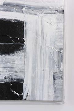 Renato Freitas Original Oil on Linen 2015 black and white 4  - 61161