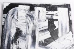 Renato Freitas Renato Freitas Original Oil on Canvas 2015 Black and White Two - 42502