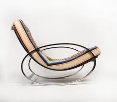Renato Zevi Rocking Lounge Chair and Ottoman by Renato Zevi - 1201989