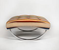 Renato Zevi Rocking Lounge Chair and Ottoman by Renato Zevi - 1201991