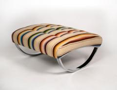 Renato Zevi Rocking Lounge Chair and Ottoman by Renato Zevi - 1201992