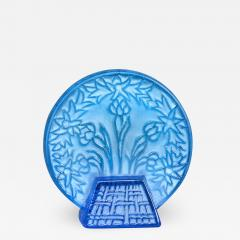 Rene Lalique A Bleu Glass Letter Seal By R Lalique Made In 1912 - 1416740