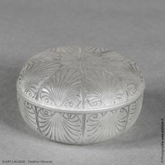 Rene Lalique A Coquilles Box Designed By R Lalique In 1920 - 1425695