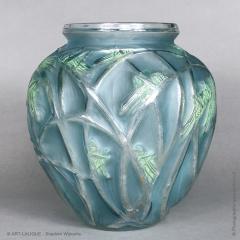 Rene Lalique A Grasshopper R Lalique 1912 Vase - 1402243