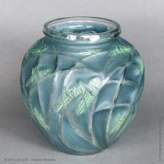 Rene Lalique A Grasshopper R Lalique 1912 Vase - 1402263