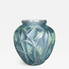 Rene Lalique A Grasshopper R Lalique 1912 Vase - 1407275