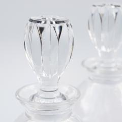 Rene Lalique A Pair of Lalique Crystal Decanters 1970 - 834360