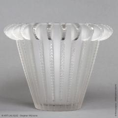 Rene Lalique A R Lalique Royat Vase Designed In 1936 - 1402260