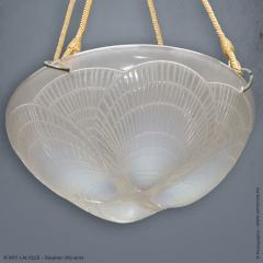 Rene Lalique An Opalescent Coquilles Chandelier R Lalique Created 1921 - 1435126