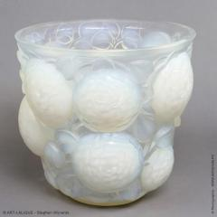 Rene Lalique An Opalescent Oran Vase Designed By R Lalique In 1927 - 1414258