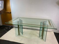 Rene Lalique EXCEPTIONAL MODERN CARVED AND ETCHED DINING TABLE IN THE MANNER OF RENE LALIQUE - 1420442