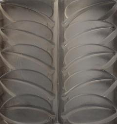 Rene Lalique Eight Floral Mirrored Glass Architectural Panels - 523332