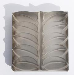 Rene Lalique Eight Floral Mirrored Glass Architectural Panels - 523336