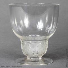 Rene Lalique Padova Porto Glasses R Lalique 1930 - 1435134