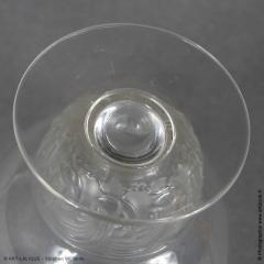 Rene Lalique Padova Porto Glasses R Lalique 1930 - 1435144