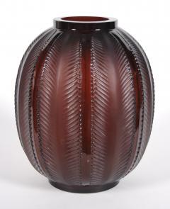 Rene Lalique R Lalique Glass Biskra Vase 1932 - 263147