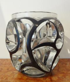 Rene Lalique White Glass Whirlwind Vase by Lalique 1926 - 562267