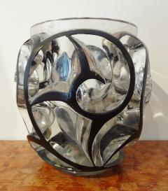 Rene Lalique White Glass Whirlwind Vase by Lalique 1926 - 562268