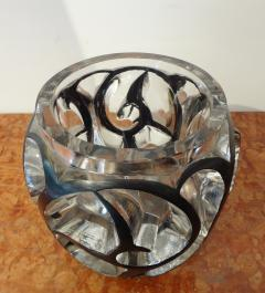 Rene Lalique White Glass Whirlwind Vase by Lalique 1926 - 562270