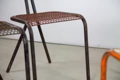 Rene Malaval Rare Set of Four Rene Malaval Radar Chairs - 258491