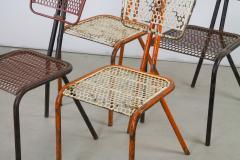 Rene Malaval Rare Set of Four Rene Malaval Radar Chairs - 258495