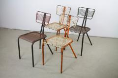 Rene Malaval Rare Set of Four Rene Malaval Radar Chairs - 258496