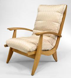 Rene Melin French 1950s Beechwood 3 Piece Salon Set - 424893