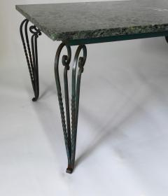 Rene Prou 1940s French table in the manner of Ren Prou - 739918