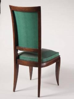 Rene Prou Rene Prou Fine Set of Six Dining Chairs - 1541871