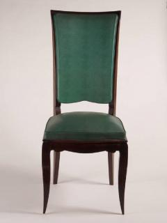 Rene Prou Rene Prou Fine Set of Six Dining Chairs - 1541873