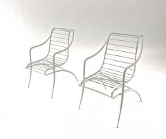 Rene Prou Rene Prou rarest set of 4 outdoor chairs in vintage condition - 1535085