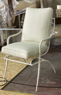 Rene Prou Rene Prou rarest set of 4 outdoor chairs in vintage condition - 1535094