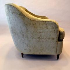 Reproduction of Gio Ponti Club Chair from the Hotel Bristol in Milano Italy - 563363