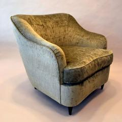 Reproduction of Gio Ponti Club Chair from the Hotel Bristol in Milano Italy - 563364