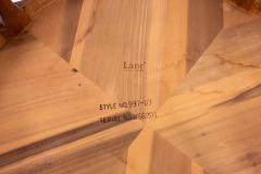 Restored Paul McCobb Style Lane Rhythm Mid Century Round Walnut Coffee Table - 1869281