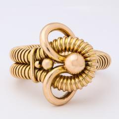 Retro 18k Gold Gas Pipe Bracelet - 634986
