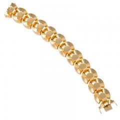 Retro Gold Link Bracelet - 1239239