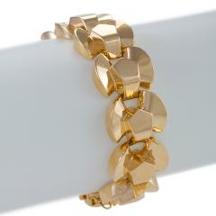 Retro Gold Link Bracelet - 1239240