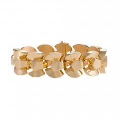 Retro Gold Link Bracelet - 1242203