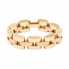 Retro Tank Bracelet in Two Tone 14 kt Gold - 1190657