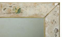 Reverse Etched and Painted Mirror - 1990572