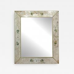 Reverse Etched and Painted Mirror - 1995227
