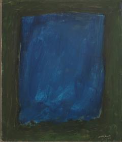 Rex J Ashlock Blue Color Field - 410068
