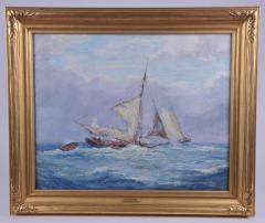 Reynolds Beal Oyster Bay Boats in a Squall - 1192783