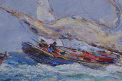 Reynolds Beal Oyster Bay Boats in a Squall - 1192784