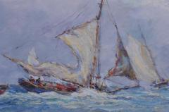 Reynolds Beal Oyster Bay Boats in a Squall - 1192785