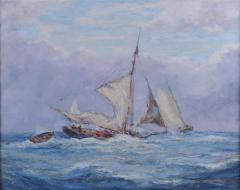 Reynolds Beal Oyster Bay Boats in a Squall - 1192861