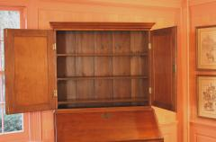 Rhode Island Chippendale Goddard School Secretary Bookcase - 1467895