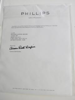 Richard Avedon Gelatin Silver Print by Richard Avedon - 464744