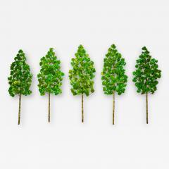 Richard B Smith Aspen Grove 5 pc 5 stem Green - 1685265